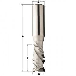 Diamentowy frez osiowy PCD z płytką pod kątem 45 stopni