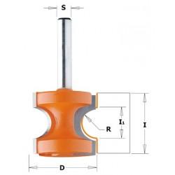 Frezy zaokrąglające typu półwałek CMT