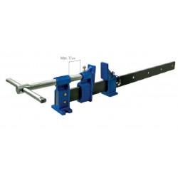 P23075 Ścisk 75x6 cm (25000N) prowadnica 40x10 mm