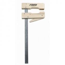 Ścisk dźwigniowy drewniany 40 cm (ramię 11cm szyna 20x5mm)