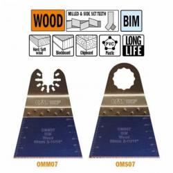 OMM07 Brzeszczot oscylacyjny W-68 I-40 TPI-18 1 szt. uchywt uniwersalny CMT