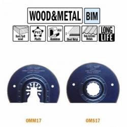 OMM17 Brzeszczot oscylacyjny W-87 TPI-20 1 szt. uchywt uniwersalny CMT