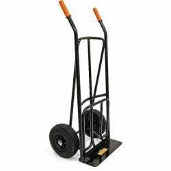 18340.STACO Wózek transportowy 150 kg uchywt prosty koła pompowane STACO NORDIC