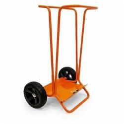 18350.STACO Wózek transportowy na śmieci koła gumwe STACO NORDIC