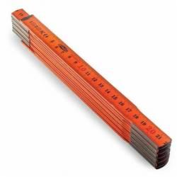 31094.STACO Metr stolarski Pomarańczowy 2M. 10 elementów STACO NORDIC