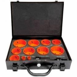 55359.STACO Zestaw otwornic 13szt-waliza Bi-Metal/HSS/Cobalt8% 19-22-54-56-57-62-68-71-74-78-83mm STACO NORDIC