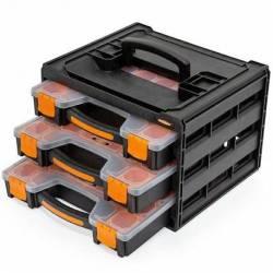 88317.STACO Organizer 3 szuflady po 15 przegródek każda STACO NORDIC