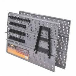 88500.STACO Tablica narzędziowa 21 haków +wieszak na klucze wym. 520 x 435 x 10.5 STACO NORDIC