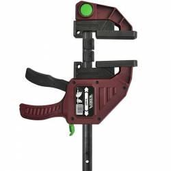 Ścisk stolarski Maxi Quick 90 cm max. siła nacisku 300 kg , ramię 9,4 cm, szyna 20x5 mm